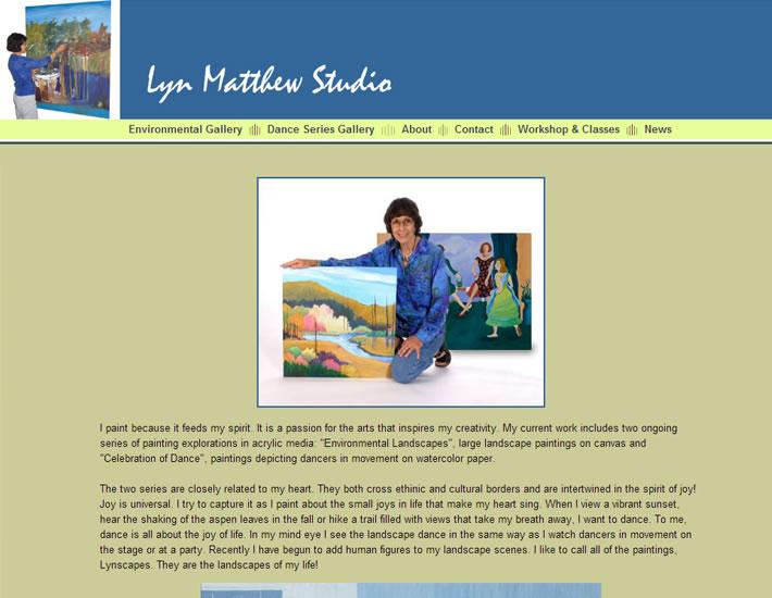 Lyn Matthew screenshot