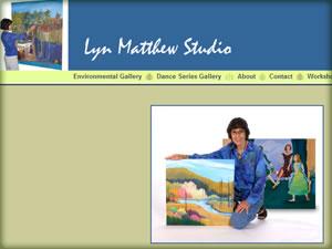 Lyn Matthew, Artist