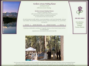 Northern Arizona Wedding Planner