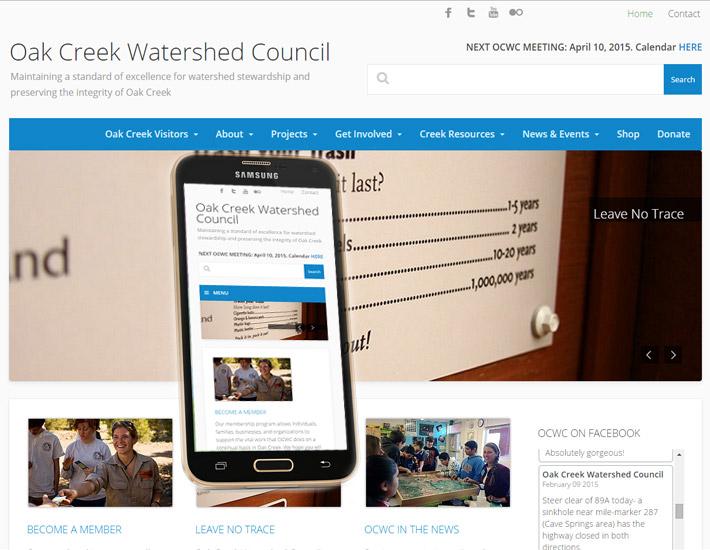 Oak Creek Watershed Council 2014