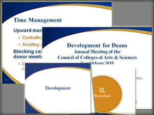 PowerPoint & Note Card