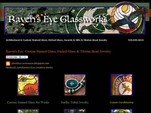 Raven's Eye Glassworks Studio