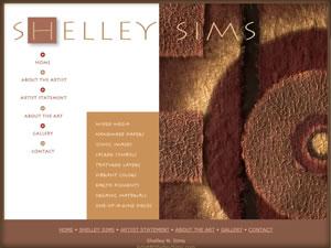 Shelley Sims, Artist
