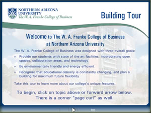NAU-FCB Building Tour Presentation