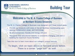 NAU-FCB Building Tour Presentation