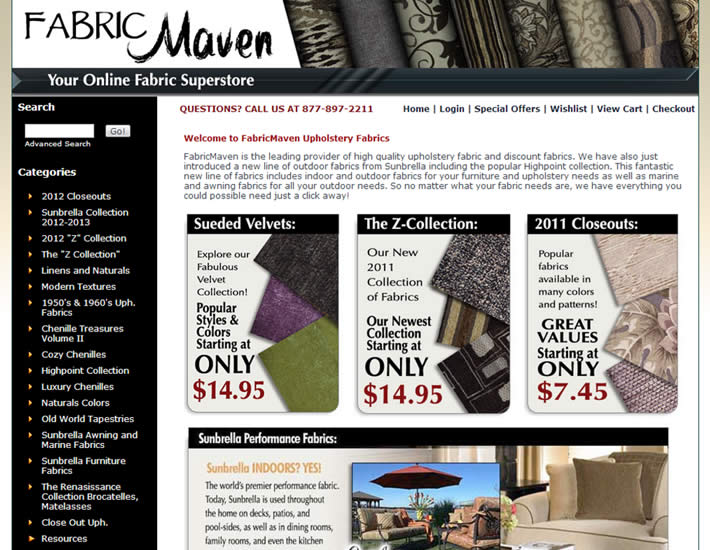 Fabric Maven After screenshot