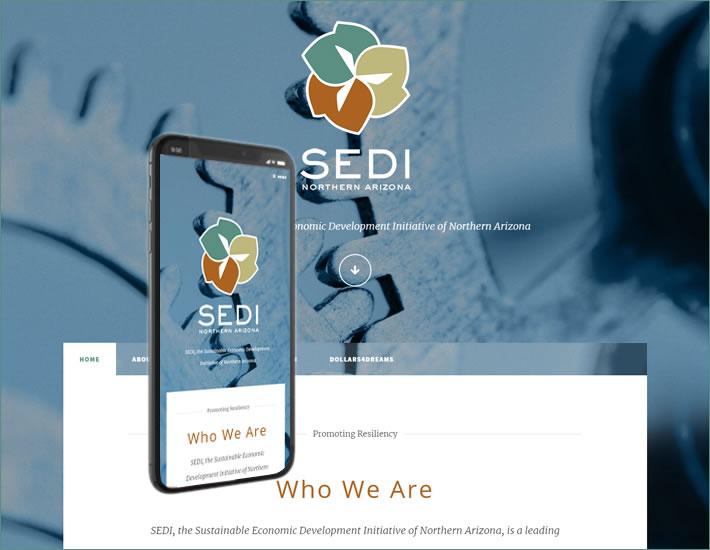SEDI homepage 2020 HTML5 Site