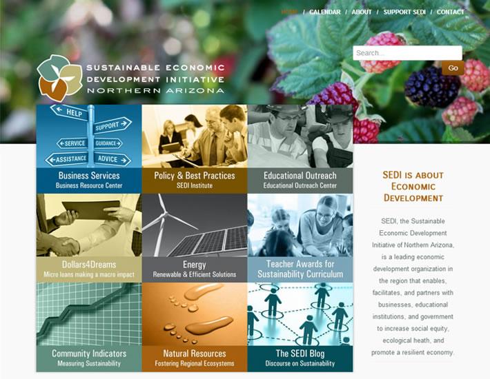 Young Native Arts - Hopi homepage, top screenshot