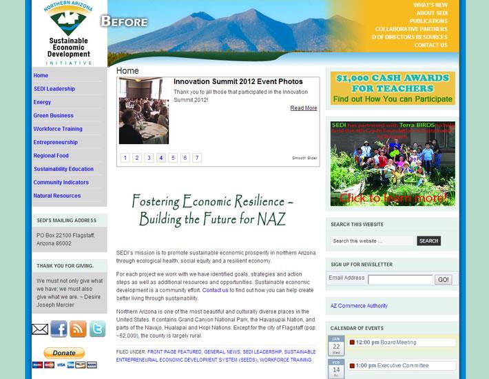 Young Native Arts - Hopi homepage, bottom