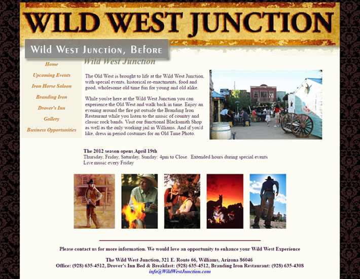 Wild West Junction - Before