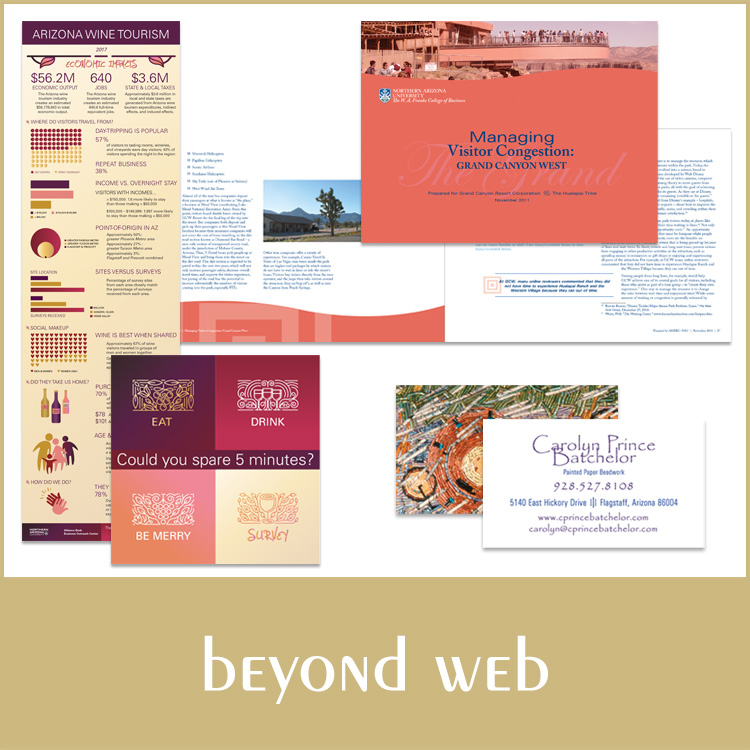 beyond web portfolio graphic button