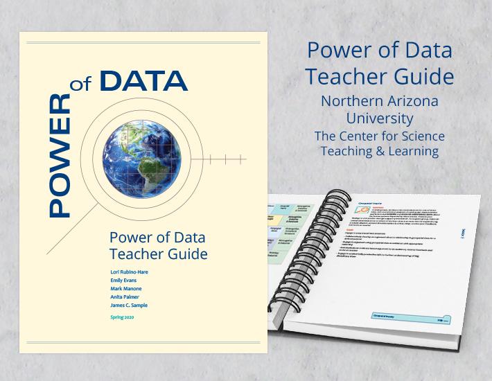 Power of Data Teacher Guide screenshots