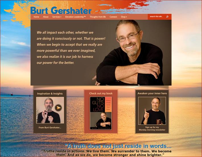 Burt Gershater's homepage Before