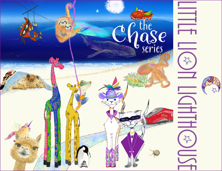 The cast of characters in The Chase Series